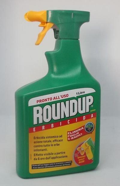 Roundup erbicida pronto uso 1 lt 1