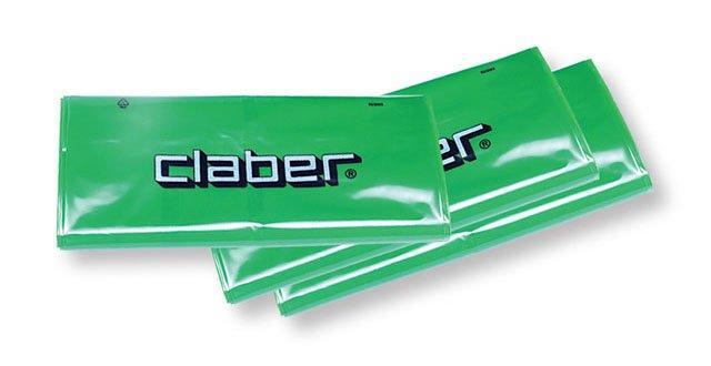 Sacco verde claber 28x25x19 pz 10 1