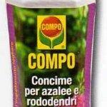 Compo concime per azalee e rododendri camelie