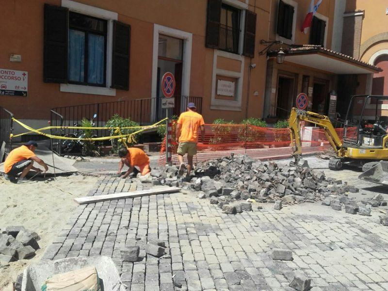 Posatori porfido Marino di Roma 7