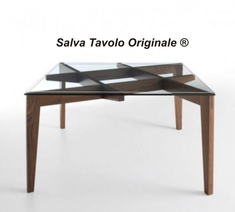 Tappetino trasparente per tavolo 140 x 90 cm 1