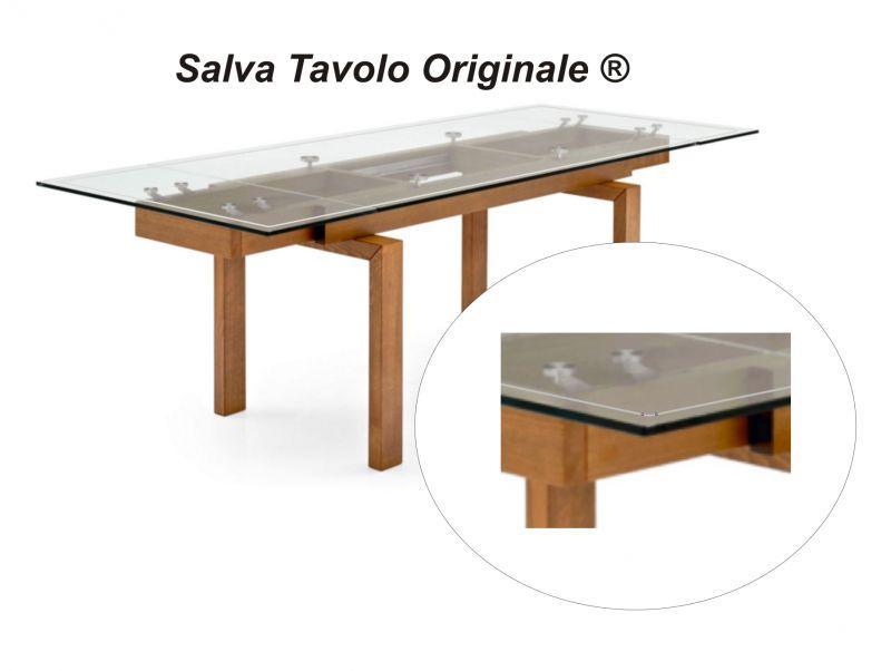 Tappetino trasparente per tavolo 140 x 90 cm 5
