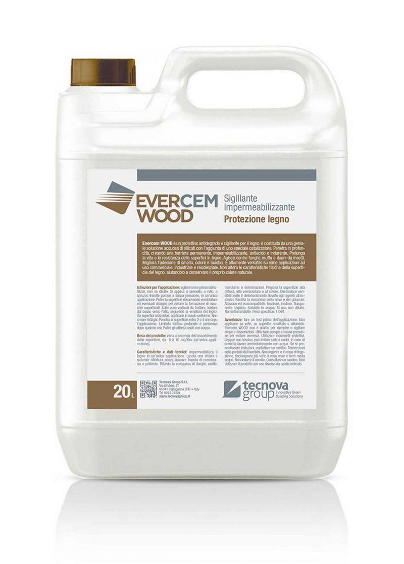 Protettivo per legno Evercem Wood 1