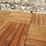Pavimentazione in legno per piscina