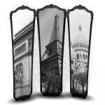 Paravento viste di parigi