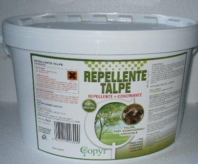 Repellente per talpe kg 5 1