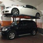 Sollevatore - elevatore per auto in box