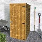 Armadio ripostiglio in legno impregnato 96 x