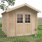 Casetta in legno impregnato sologne 298 x
