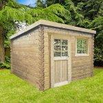 Casetta in legno impregnato nevers 238 x