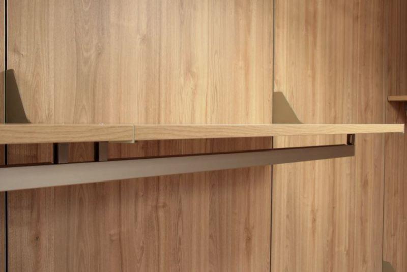 Cabina armadio con schiene SU MISURA 3