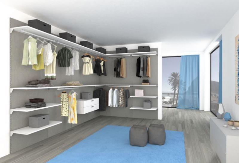 Cabine Armadio Angolari Su Misura : Prezzo cabina armadio angolare su misura personalizzabile
