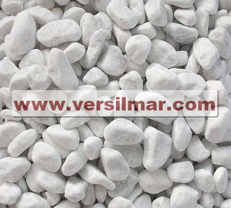 Ciottoli di Bianco Carrara mm. 7-15 1