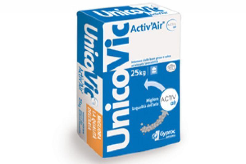 Intonaco di sottofondo Unicovic Activ'Air 1