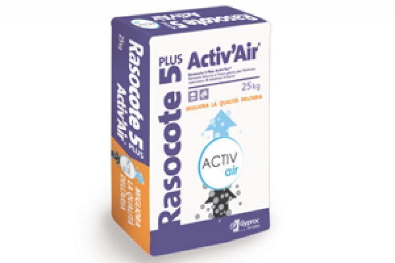 Rasante per strato finale Rasocote 5 Plus Activ'Air 1