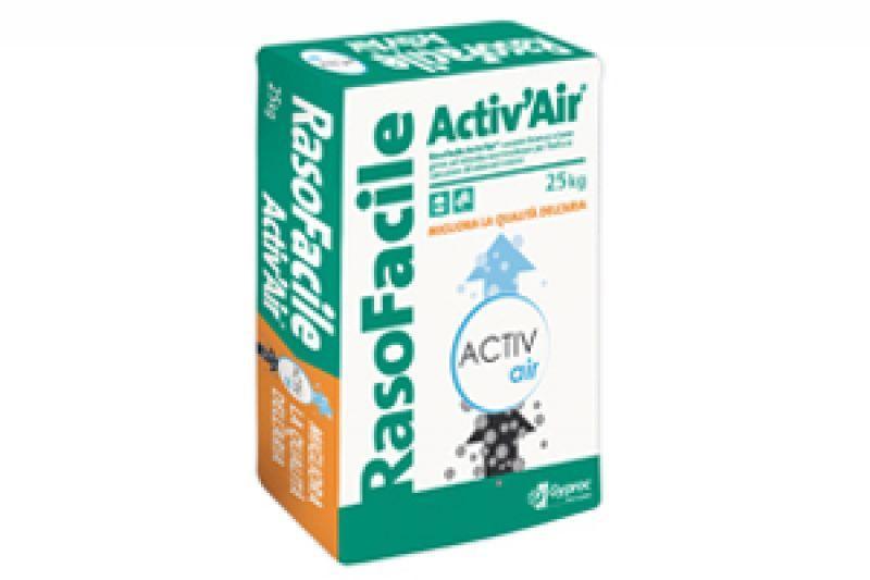 Rasante bianco per interni RasoFacile Activ'Air 1