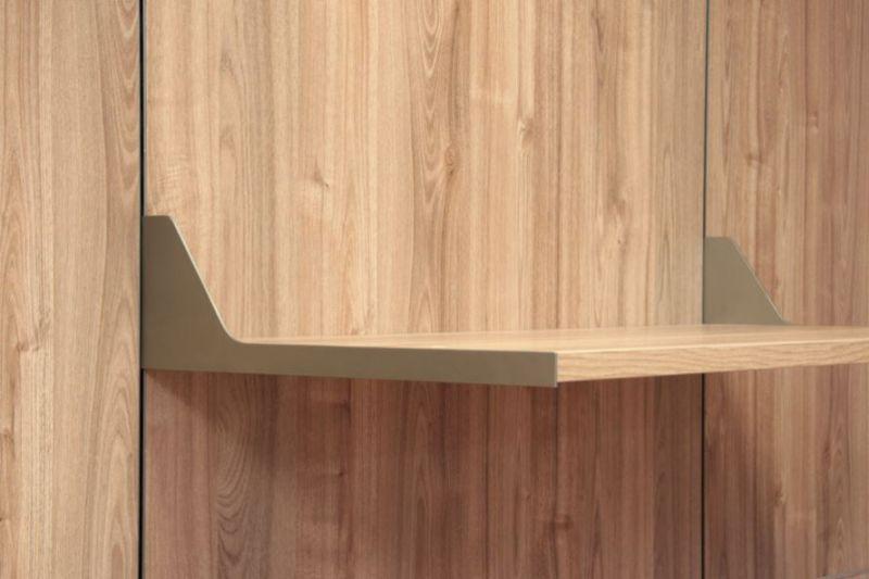 Cabina armadio lineare e senza pannelli 4