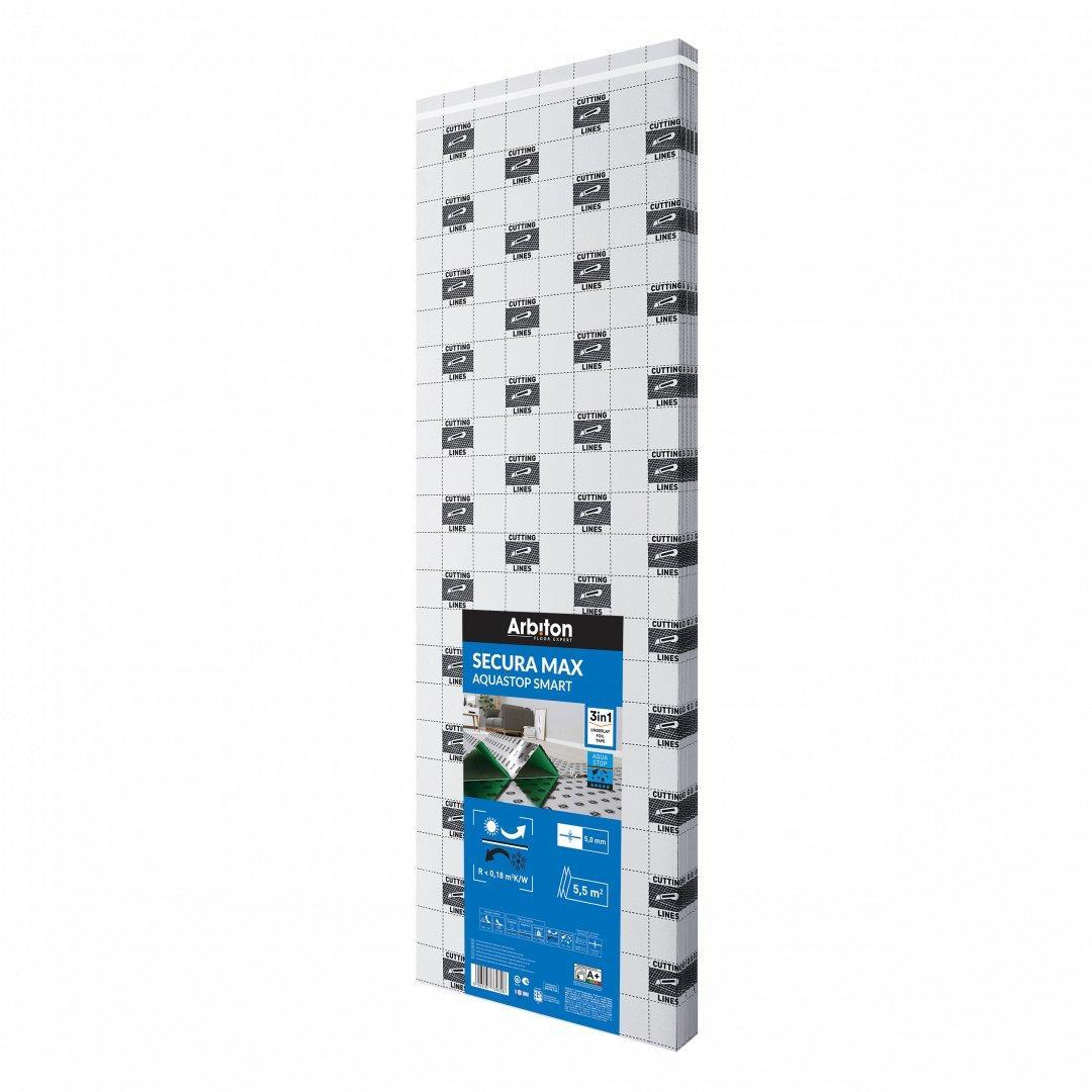 Sottopavimento termoisolante secura max aquastop smart 5 - 2497265 1