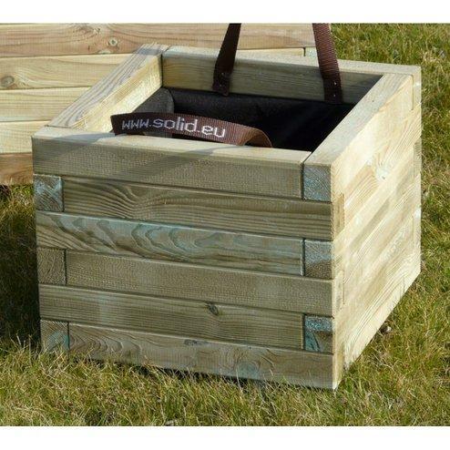 Fioriera bac legno 50 x 50 sp 1