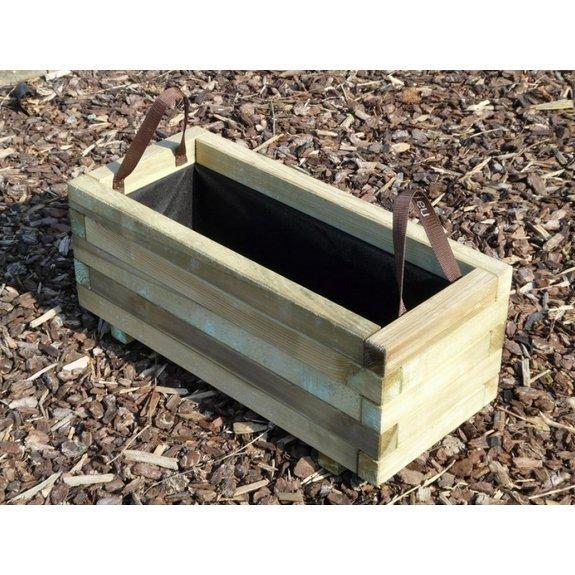 Fioriera bac legno 70 x 30 sp 1