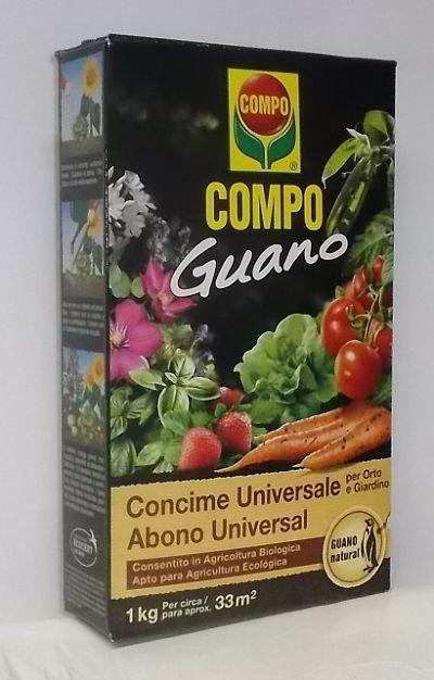 Compo guano concime universale 1 kg 1
