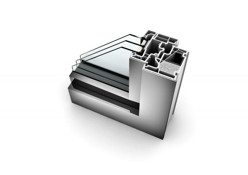 Finestra pvc-alluminio KF410 5