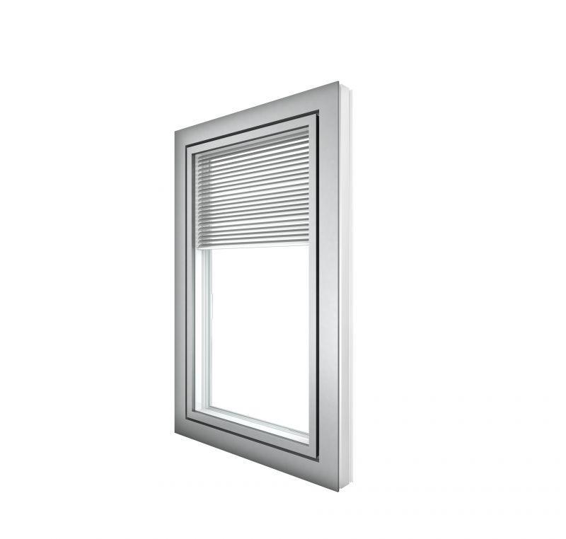 Doppia finestra  in pvc alluminio KV440 1