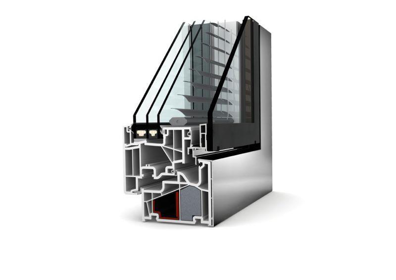 Doppia finestra  in pvc alluminio KV440 4