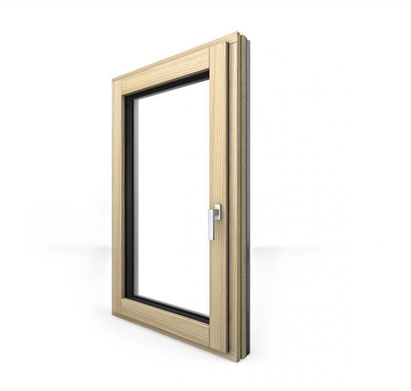 Finestra in legno alluminio HF410 2