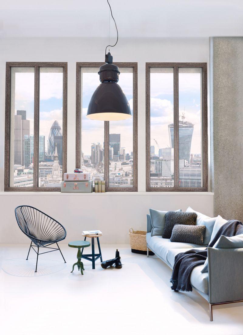 Finestra in legno alluminio HF410 6