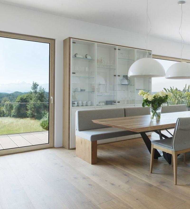Finestra in legno alluminio HF410 7