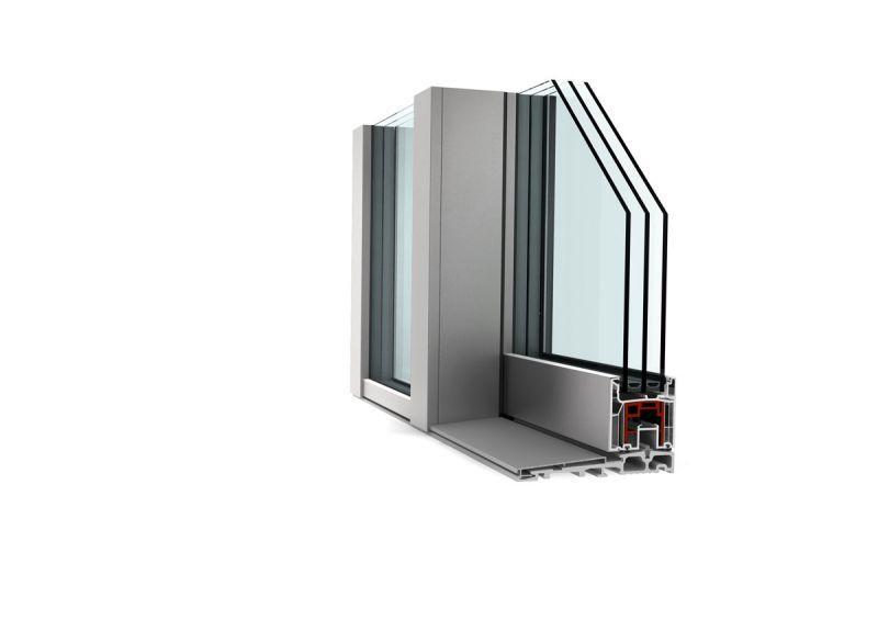 Porta alzante scorrevole in PVC alluminio KS430 3