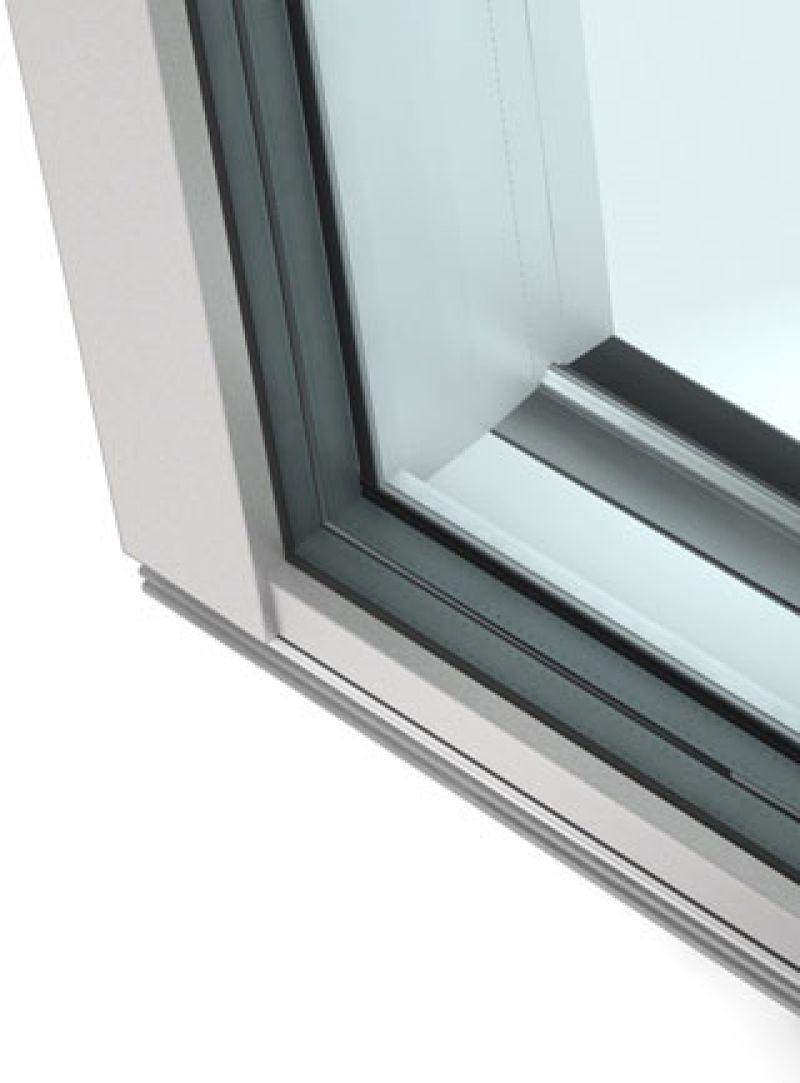 Porta alzante scorrevole in PVC alluminio KS430 4