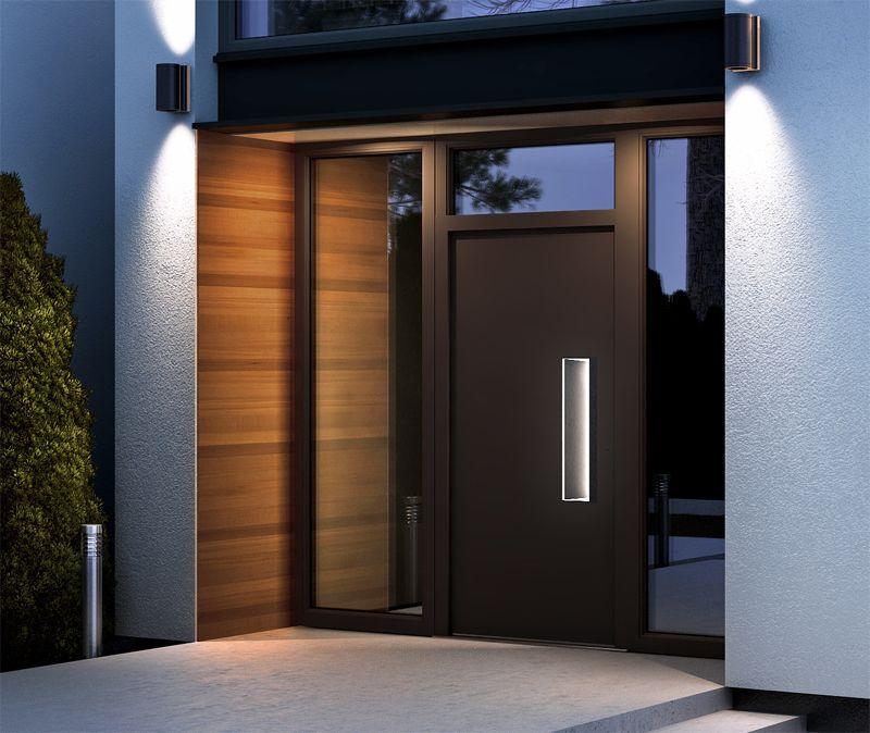Portoncini per la casa in legno alluminio 10