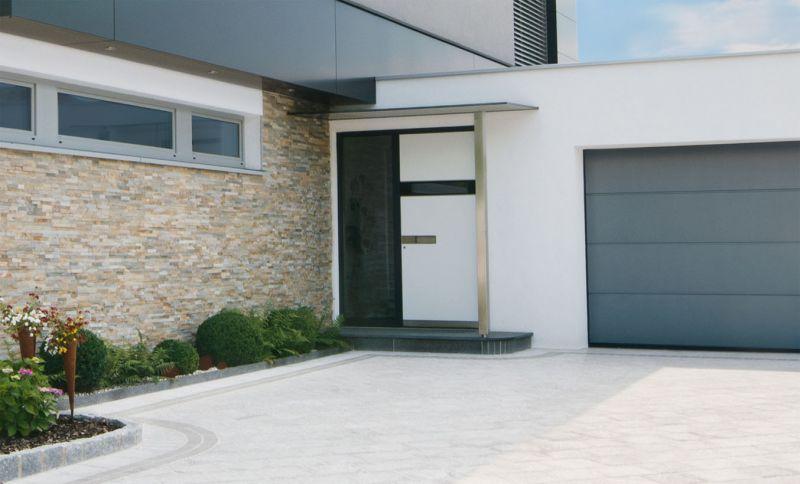 Portoncini per la casa in legno alluminio 4
