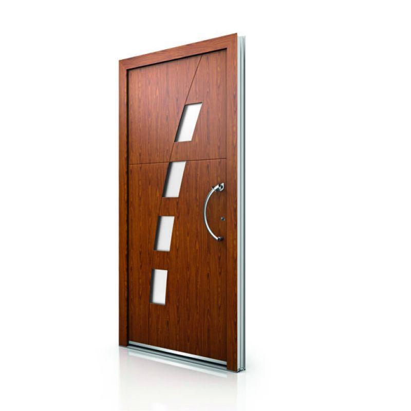 Portoncini per la casa in legno alluminio 5