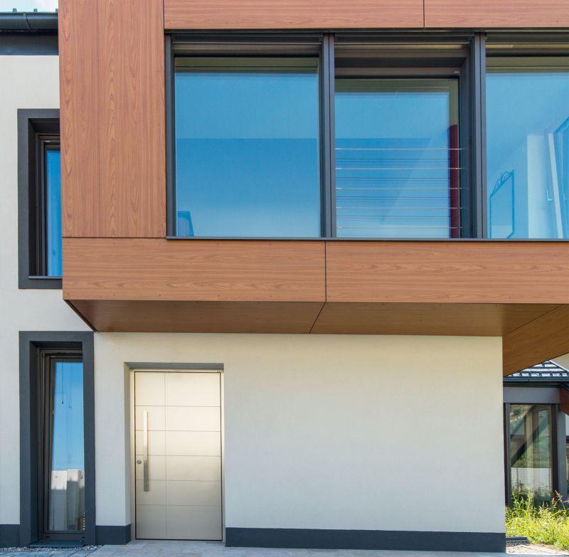 Portoncini per la casa in legno alluminio 7