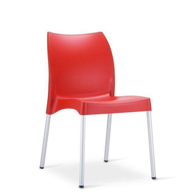 Lampone: sedia da giardino 1