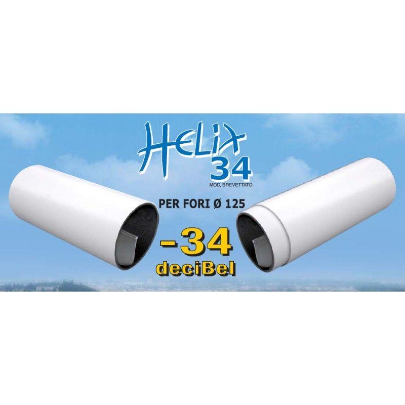 Riduttore acustico Helix 34 per fori di ventilazione 1