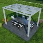 Tenda da sole per giardino LILLI