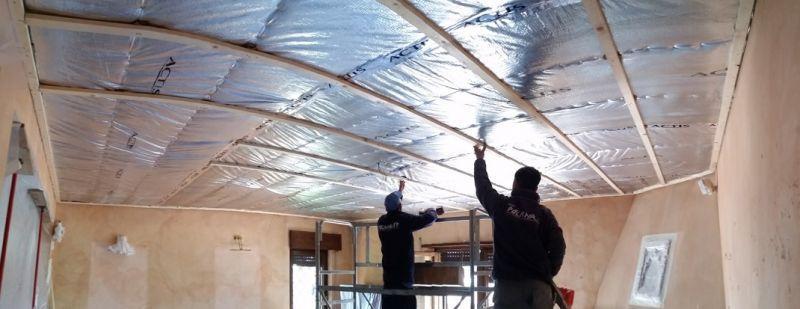 Cappotto termico sottile per sottotetto Latina 4