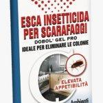 Esca insetticida per scarafaggi dobol gel pro
