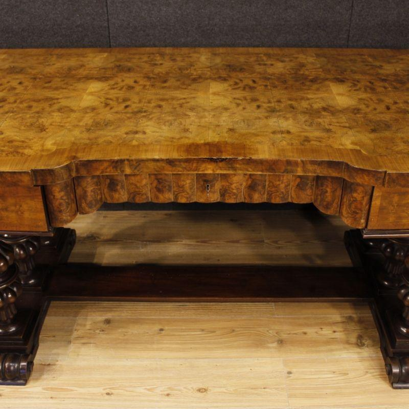 Scrittoio antico di legno 13