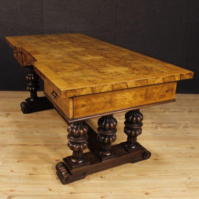 Scrittoio antico di legno 4