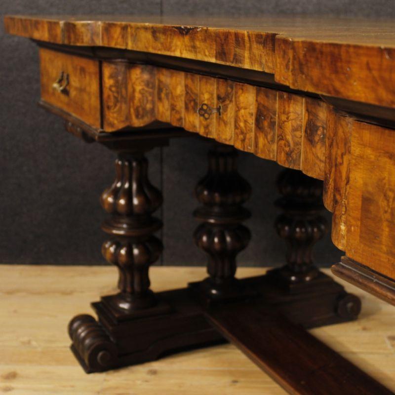 Scrittoio antico di legno 6