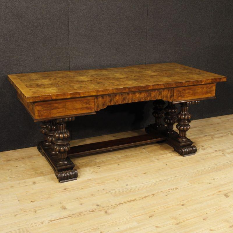 Scrittoio antico di legno 7