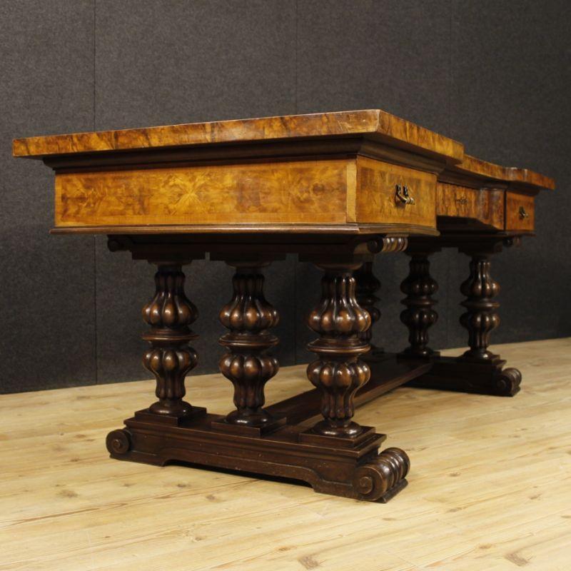 Scrittoio antico di legno 9
