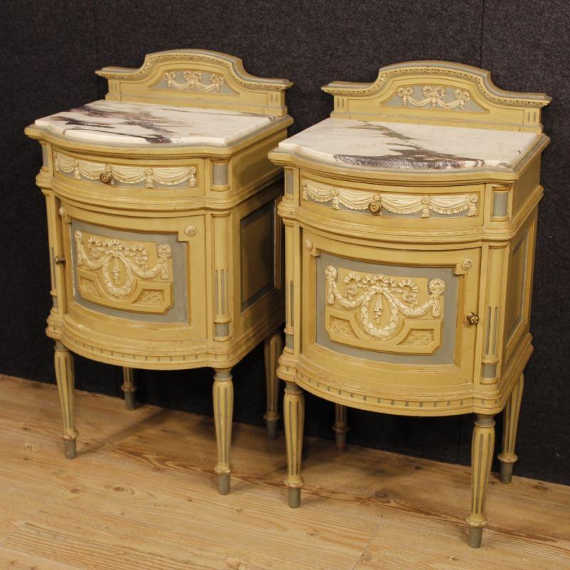 Comodini antichi stile Luigi XVI 1