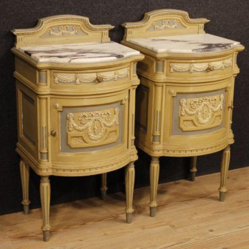 Comodini antichi stile Luigi XVI 10