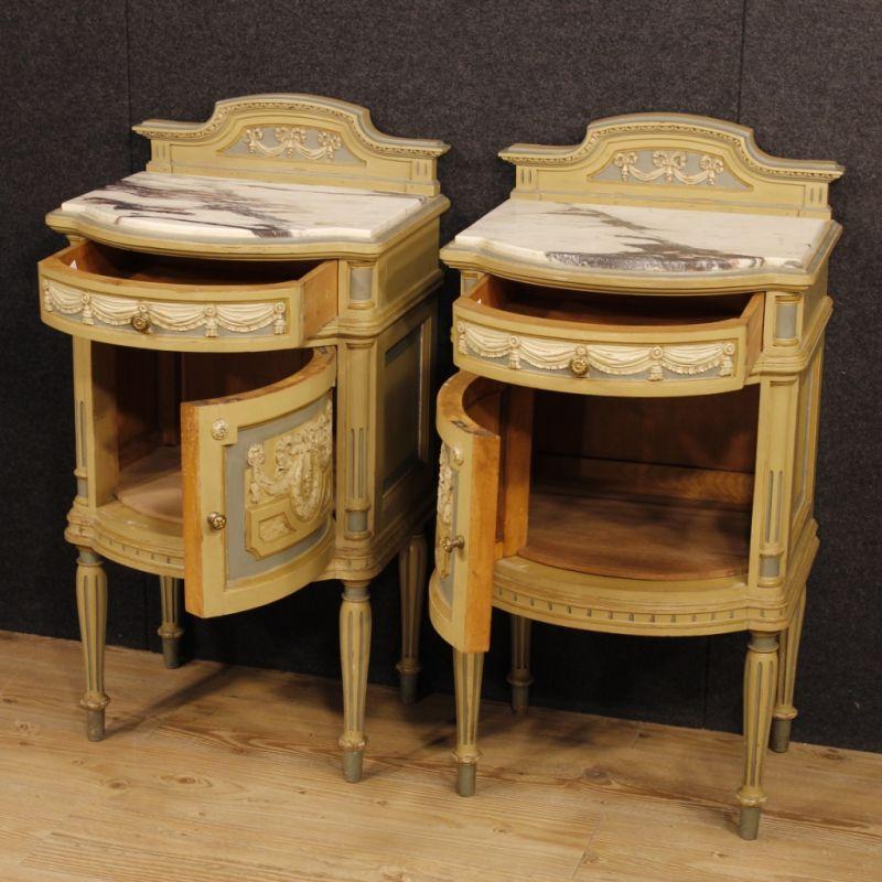 Comodini antichi stile Luigi XVI 3
